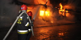 Pożar w internacie na Podkarpaciu. 13 osób trafiło do szpitala
