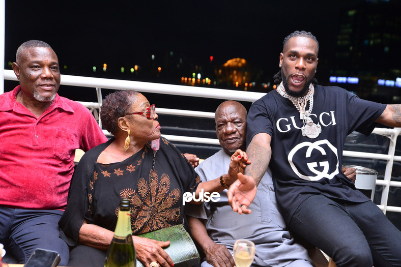 Burna Boy hosts listening party for African Giant in Lagos