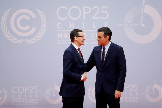 Premier Mateusz Morawiecki w Madrycie szczycie klimatycznym COP25