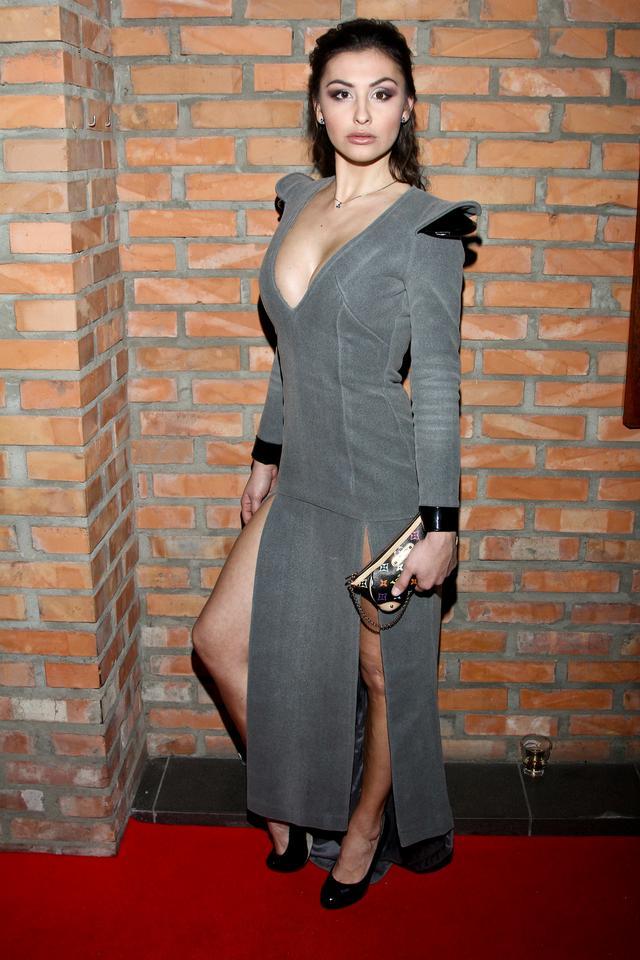 Angelika Fajcht na imprezie Playboja Fotoerotica 2012