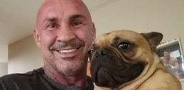 Przemysław Saleta zaadoptował niepełnosprawnego psa