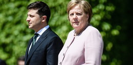 Dziwne zachowanie Angeli Merkel. Co jej się stało?