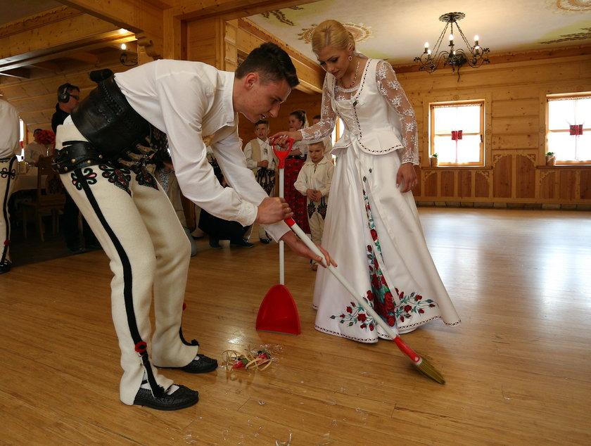 Klemens Murańka i Agnieszka Radkosz