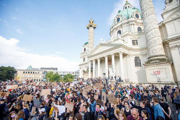 Protest u Beču