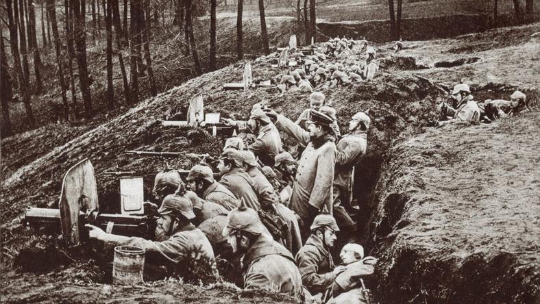 I wojna światowa. Niemieckie wojska w Prusach Wschodnich