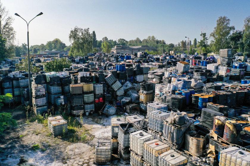Likwidacja składowiska toksycznych odpadów w Mysłowicach