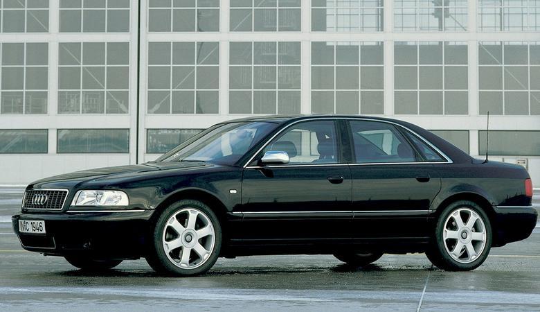 Jak się zmieniało Audi A8 - galeria wszystkich generacji