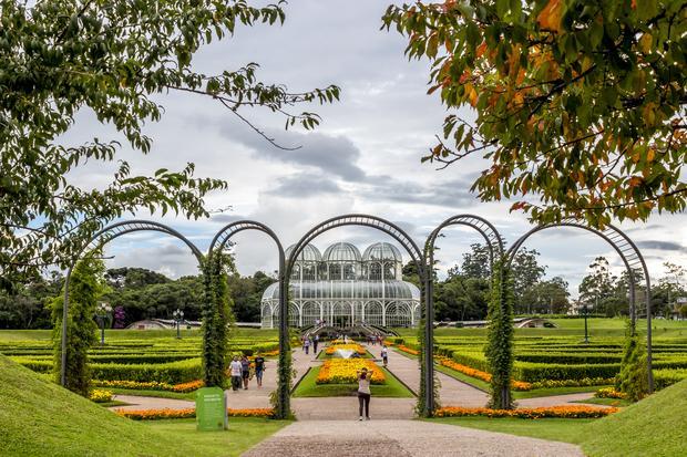 Kurytyba, ogród botaniczny