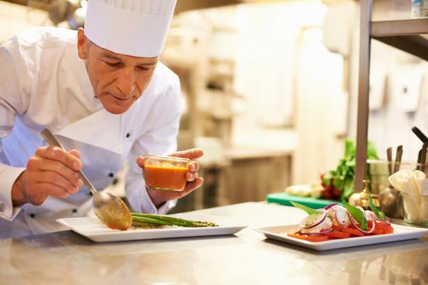 szef kuchni, kucharz, jedzenie, gotowanie