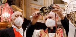 Niepokój wiernych w Neapolu. Nie było cudu św. Januarego, a to zły znak