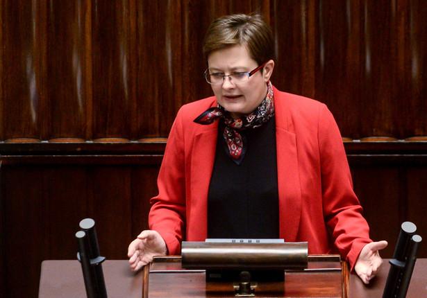 Posłanka Nowoczesnej Katarzyna Lubnauer