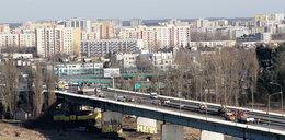 Tutaj zaczął się pożar mostu Łazienkowskiego!