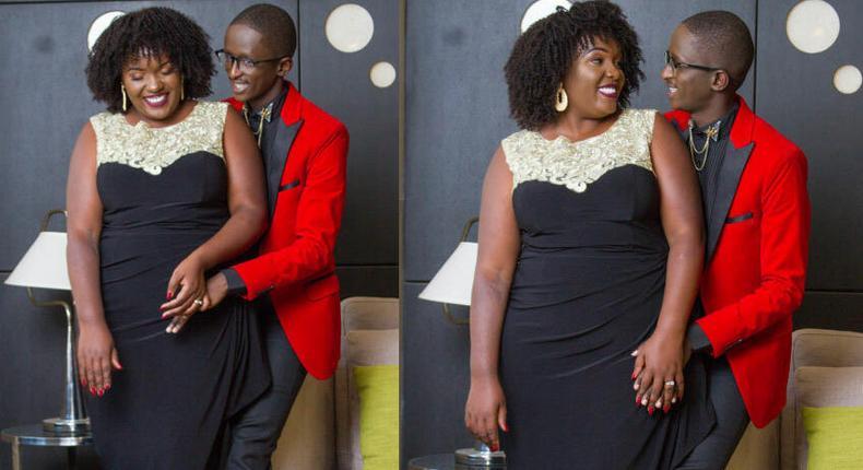 Njugush and his wife Celestine Ndinda