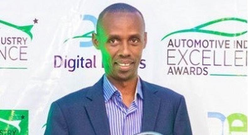 Head of Timam Cars William Gatoto. Timam Cars bags first Award in the Automotive Industry Excellence Awards