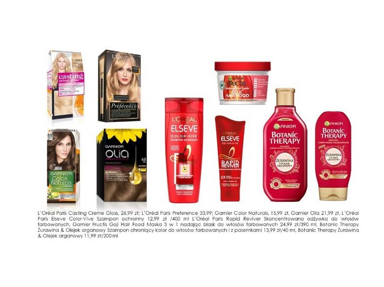 Kosmetyki do samodzielnego farbowania włosów