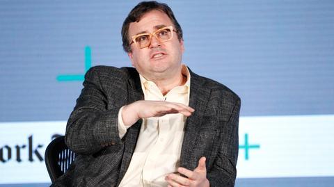 Reid Hoffman jest współzałożycielem LinkedIna