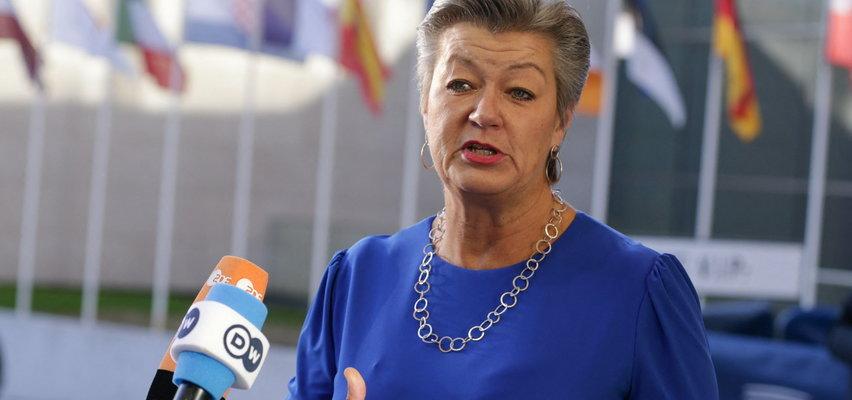 Mocne słowa unijnej komisarz o reżimie Łukaszenki: Zyskuje, skazując ludzi na zamarznięcie. Ylva Johansson rozmawiała też z prezydentem Białegostoku