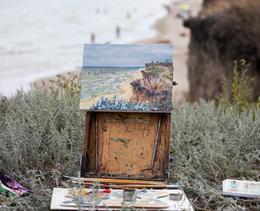 La peinture, l'alliance parfaite de vacances et de créativité