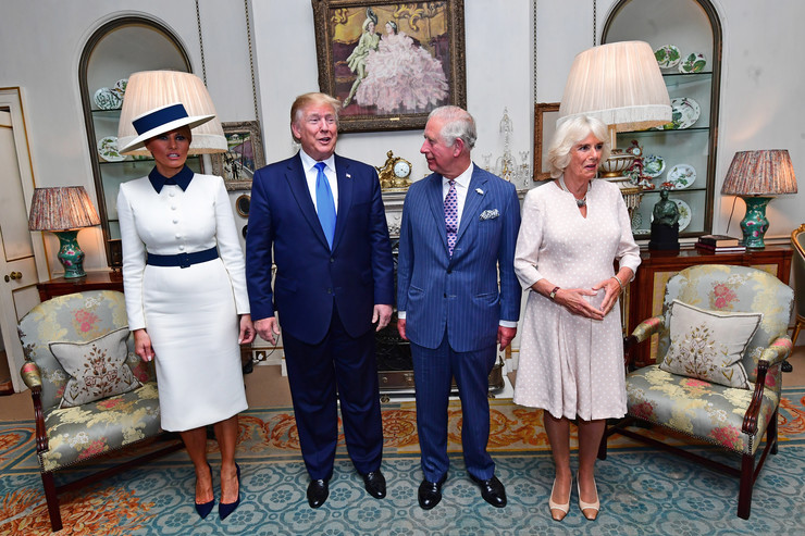 Donald i Melanija Tramp Princ Čarls i Kamila EPA STR - POOL