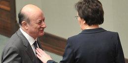 Ewa Kopacz i Jacek Rostowski. Czułości w Sejmie