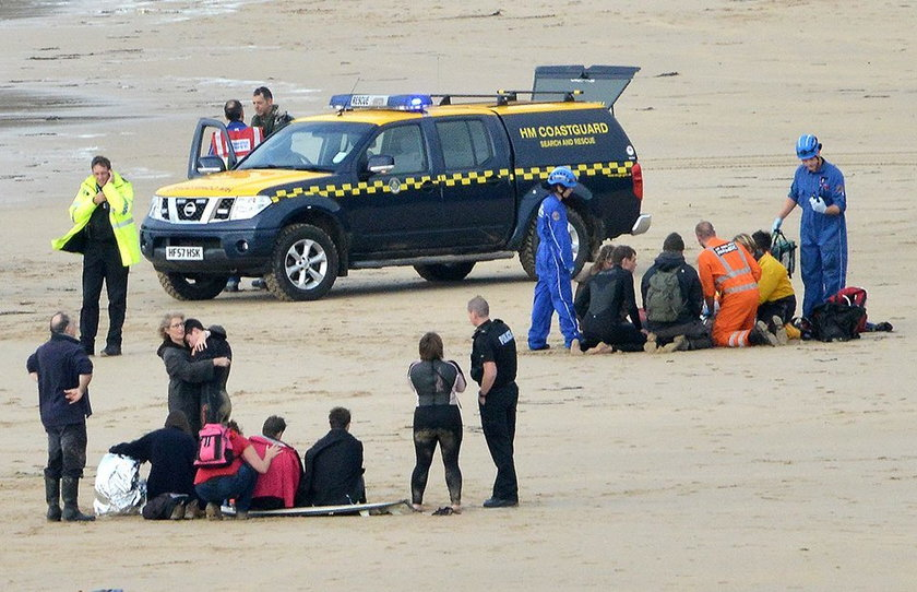 Trzy osoby utonęły ratując nastolatków