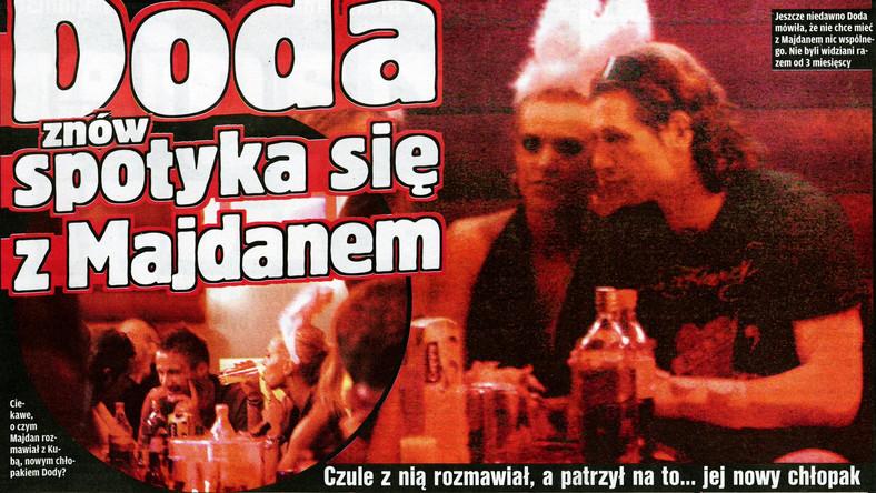 Doda i Majdan znów są razem?