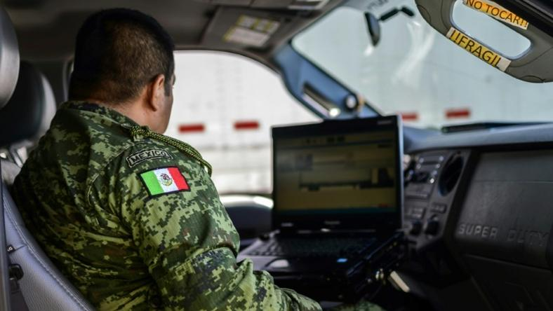 Mexican soldiers are using technology to help stop undocumented migrants and human traffickers