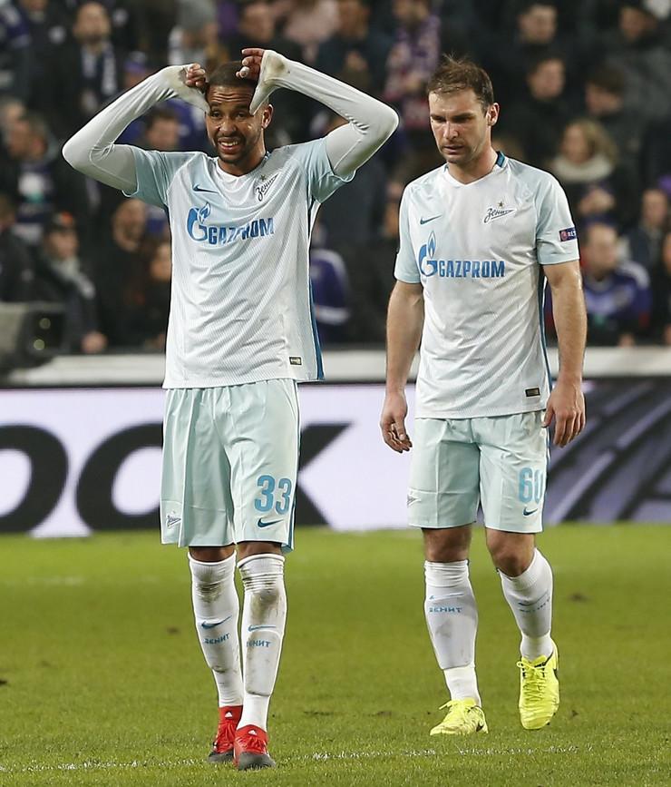 FK Zenit, FK Anderleht, Branislav Ivanović, Liga Evrope