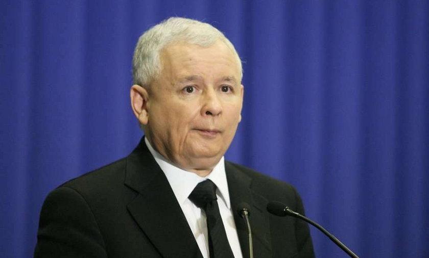 Kaczyński zaniemówił. Dlaczego?