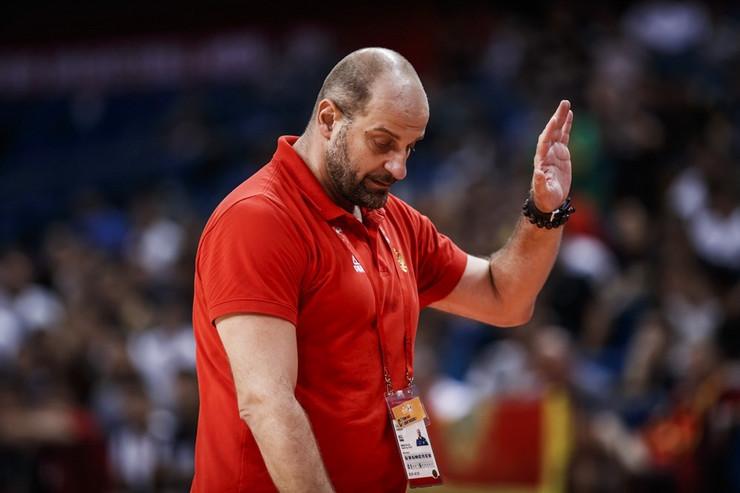 Zvezdan Mitrović, selektor košarkaške reprezentacije Crne Gore