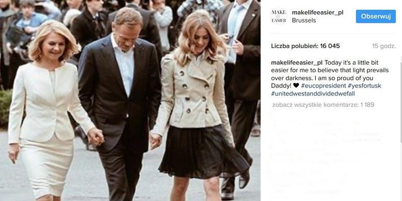 screen z profilu Kasi Tusk
