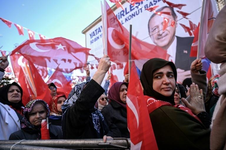 The polls this month will be the first municipal elections in which Erdogan's AKP will be fielding joint candidates with the right-wing Nationalist Movement Party (MHP)