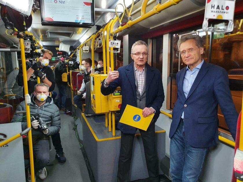 "Ryszard Cebula zdradza kulisy programu ""Uwaga! Koronawirus"""