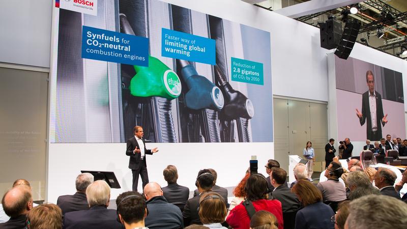 Konferencja prasowa firmy Bosch podczas IAA