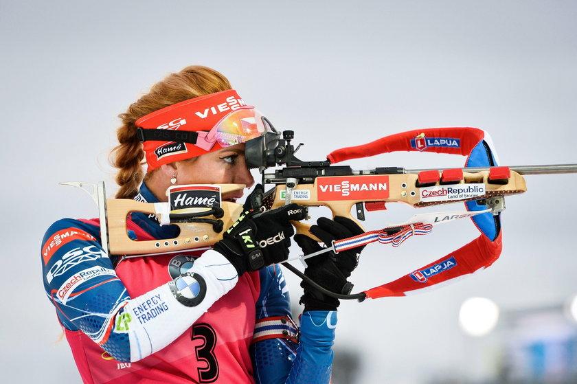 Czeska biathlonistka pokazała gorące zdjęcie