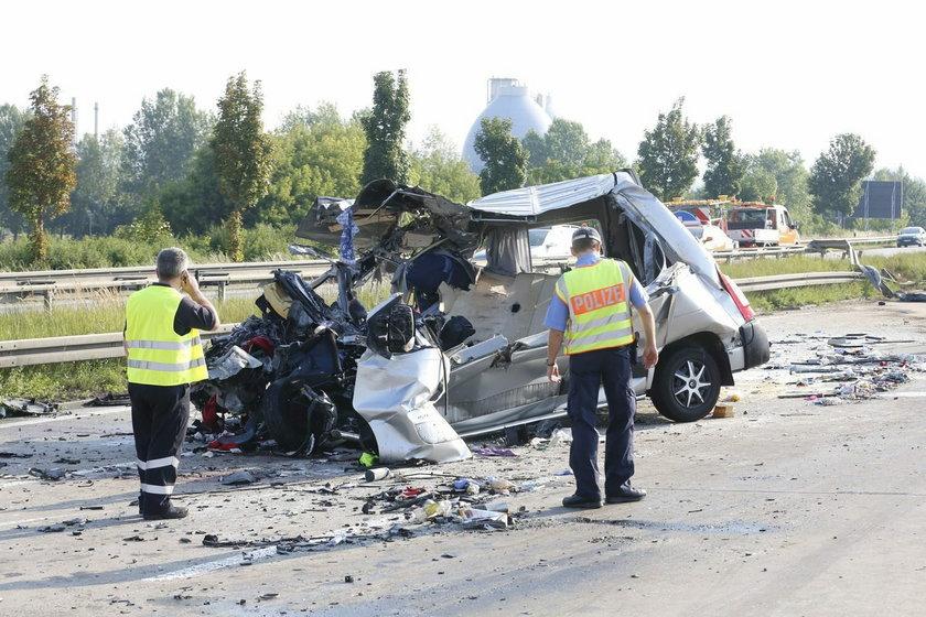 Katastrofa polskiego autokaru