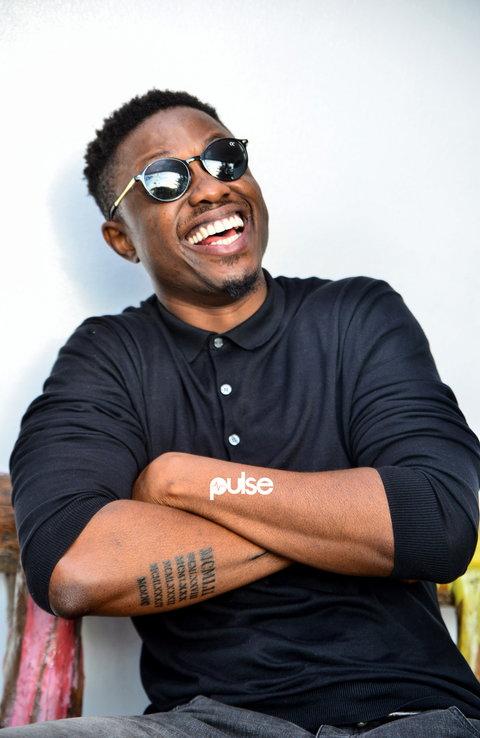 Vector visits Pulse. (Pulse Nigeria)