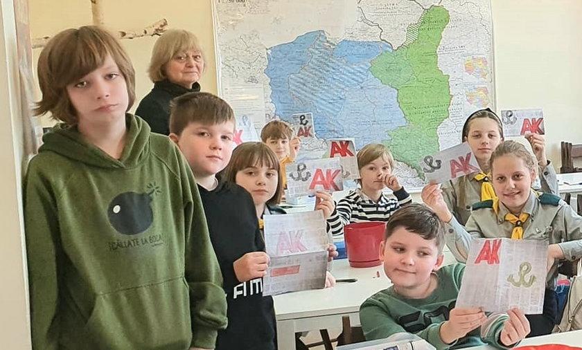 Szkoła w Brześciu.