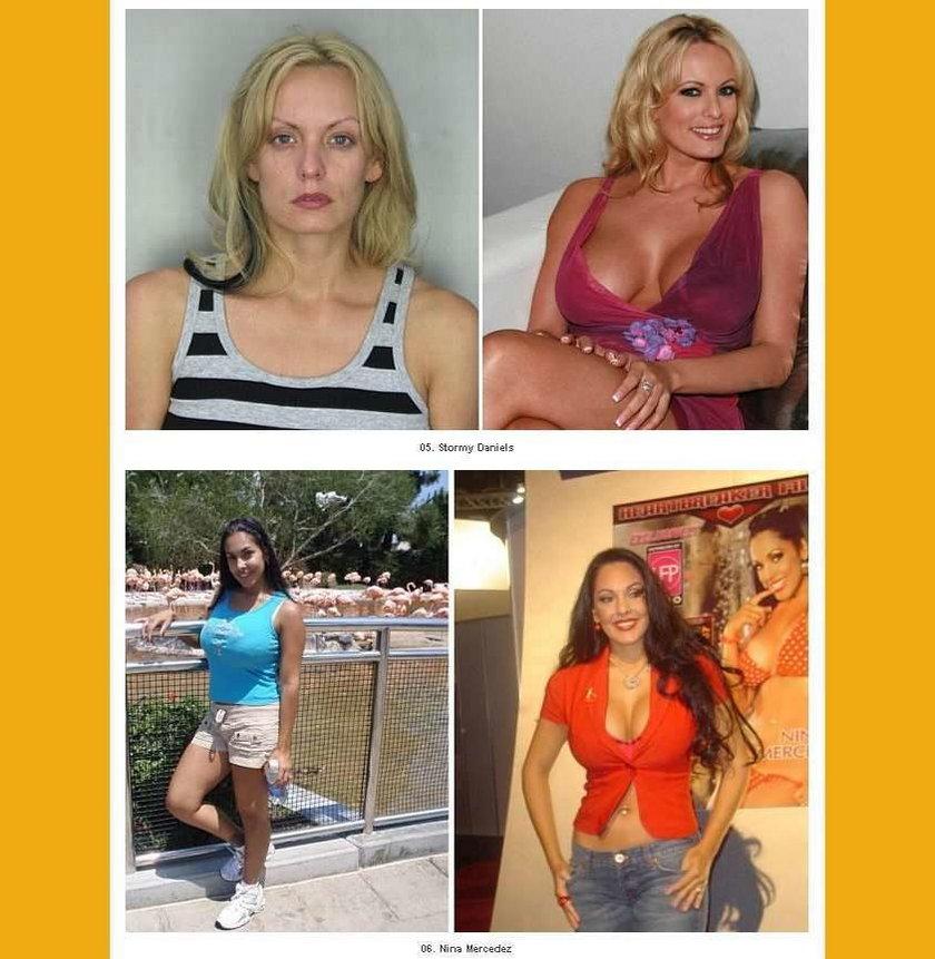 Gwiazdy porno bez makijażu