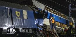 Katastrofa kolejowa w Czechach. Jedna osoba nie żyje, wielu rannych