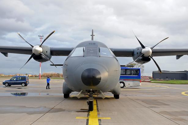 Samolot wojskowy CASA CN-235