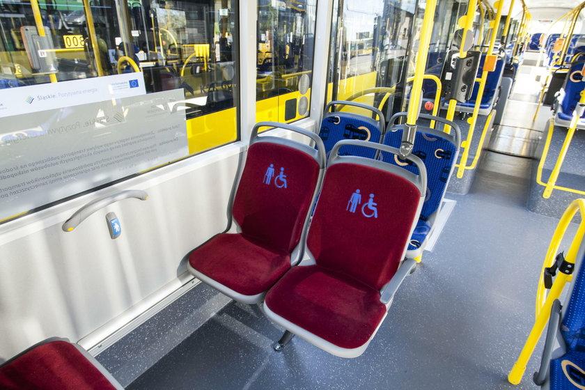 Katowice. Prezentacja nowych autobusów