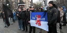 Niemcy na zadymie w Polsce! To nie antifa!