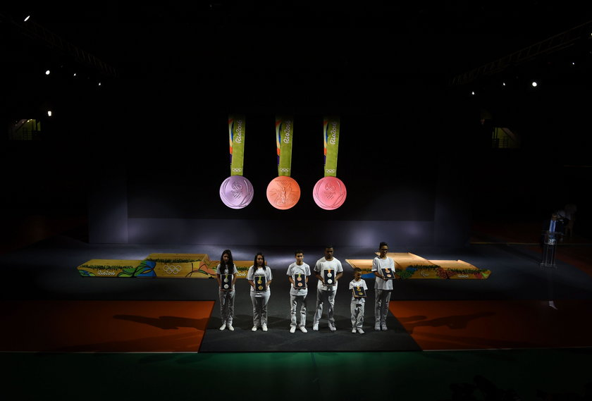 Pierwsze takie medale w historii. Zobacz krążki z Rio GALERIA
