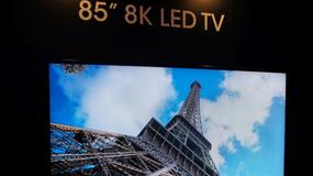 Pierwszy telewizor 8K jesienią trafi do sklepów