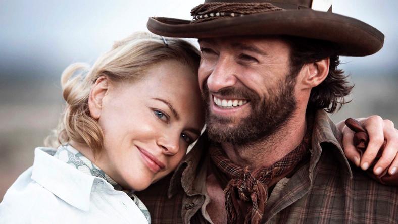 """Hugh Jackman i Nicole Kidman w filmie """"Australia"""""""