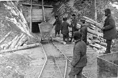 Kopalnia na Kołymie Fot. Public Domain