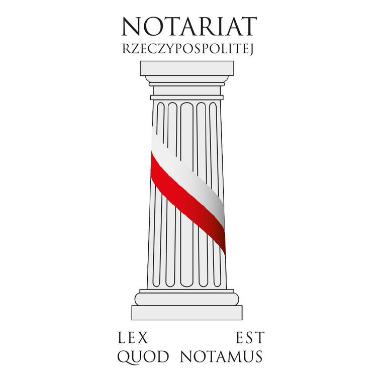 logo Notariat Rzeczypospolitej_tło