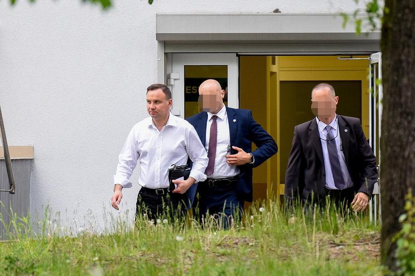 Andrzej Duda w poradni