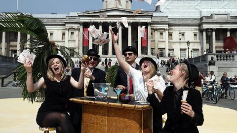 Londyński indeks FTSE 100 w styczniu pobił rekord trzeci tydzień z rzędu